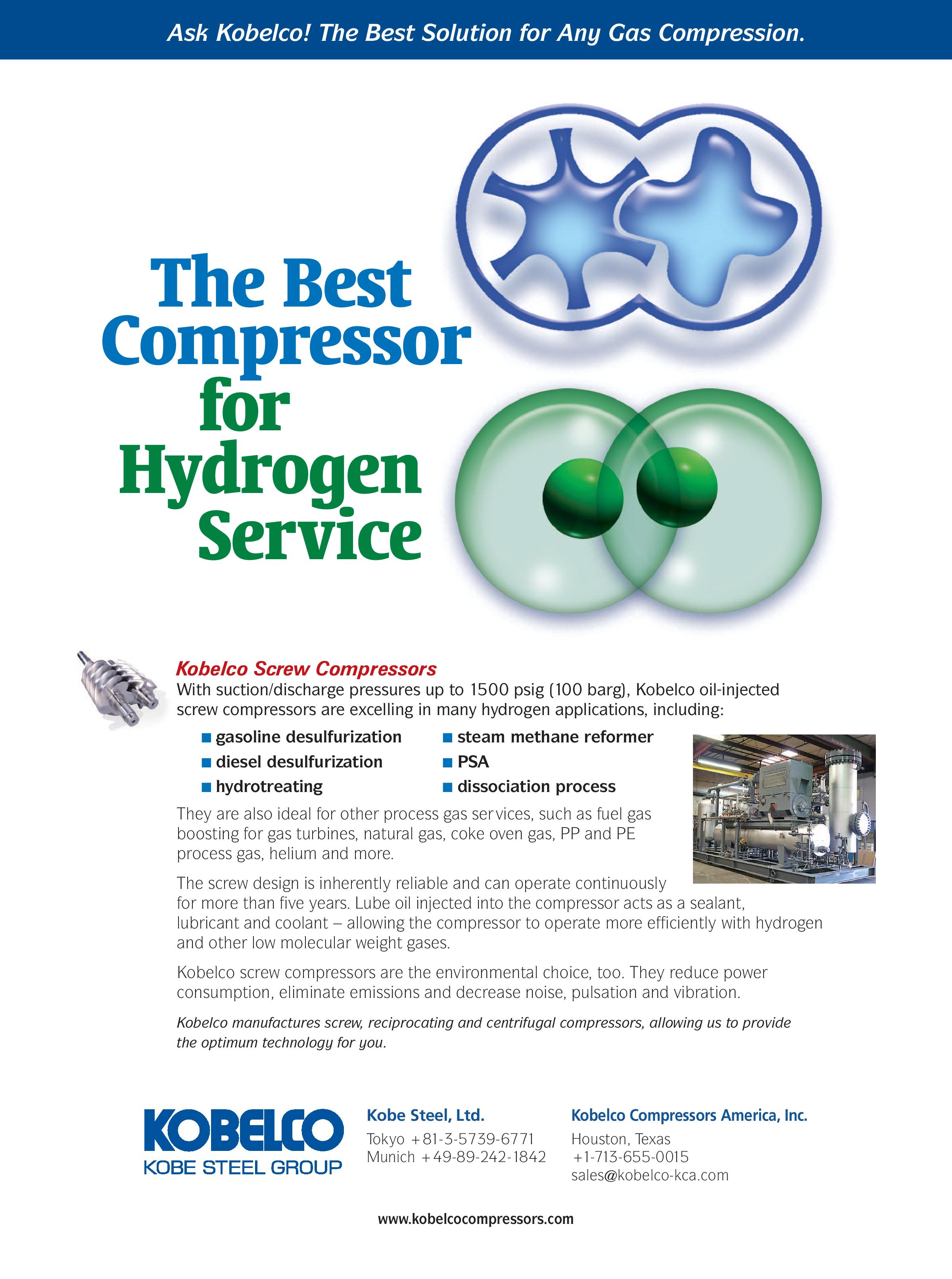 the best compressor for h2