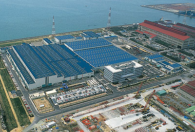 Kobelco- Kobe Steel Ltd  (KSL) em Takasago, Japão