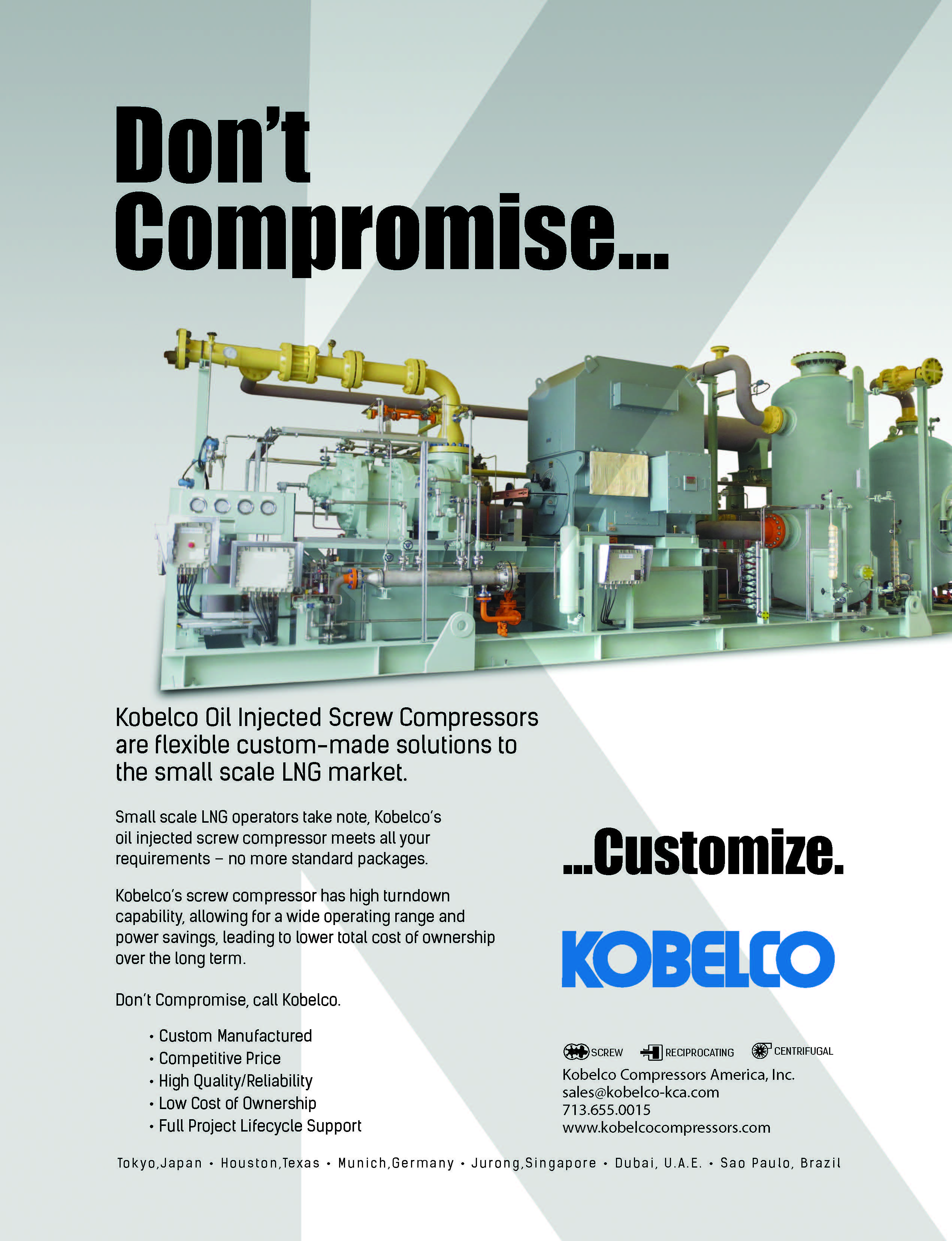 Kobelco- Flare Gas RecoveryRight Compressor-Right Company Build Your