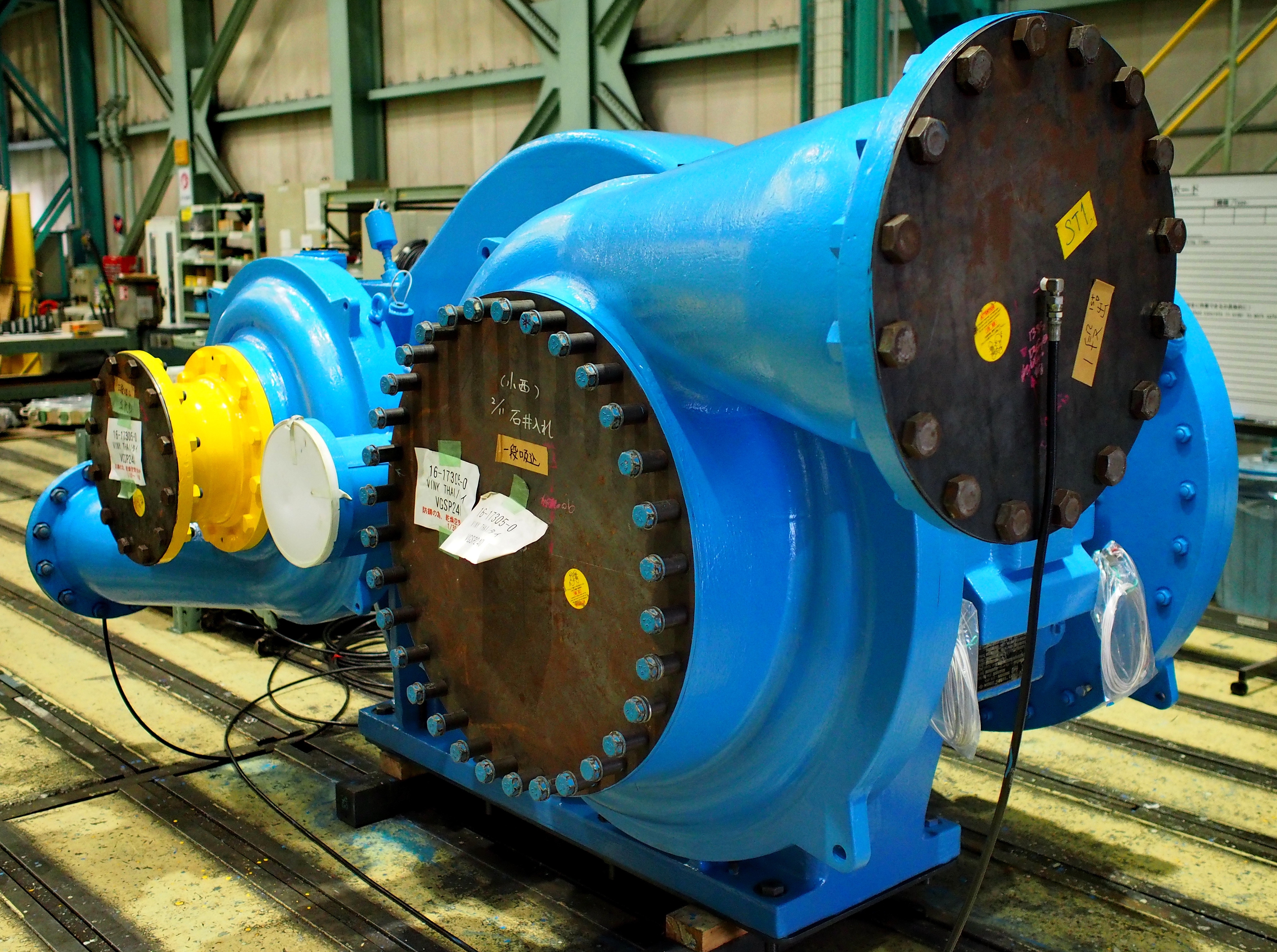 """thesis centrifugal compressor To the graduate council: i am submitting herewith a thesis written by nicholas joseph fredrick entitled """"investigation of the effects of inlet swirl on compressor performance and operability using a modified parallel."""